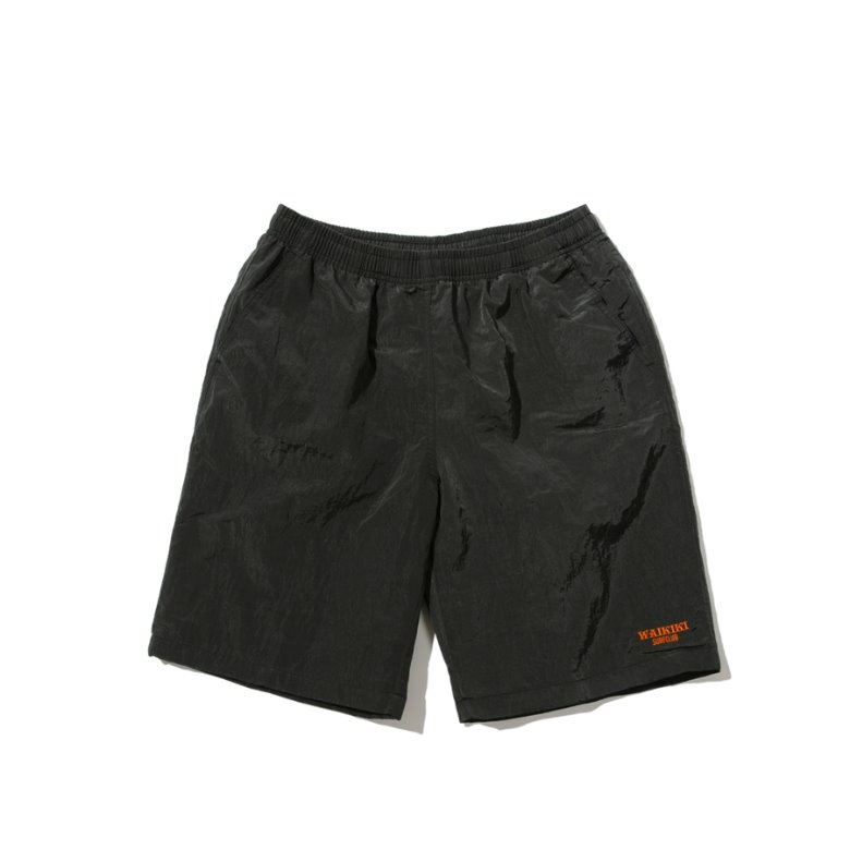 wildhogs waikiki surf club shorts(BLACK)