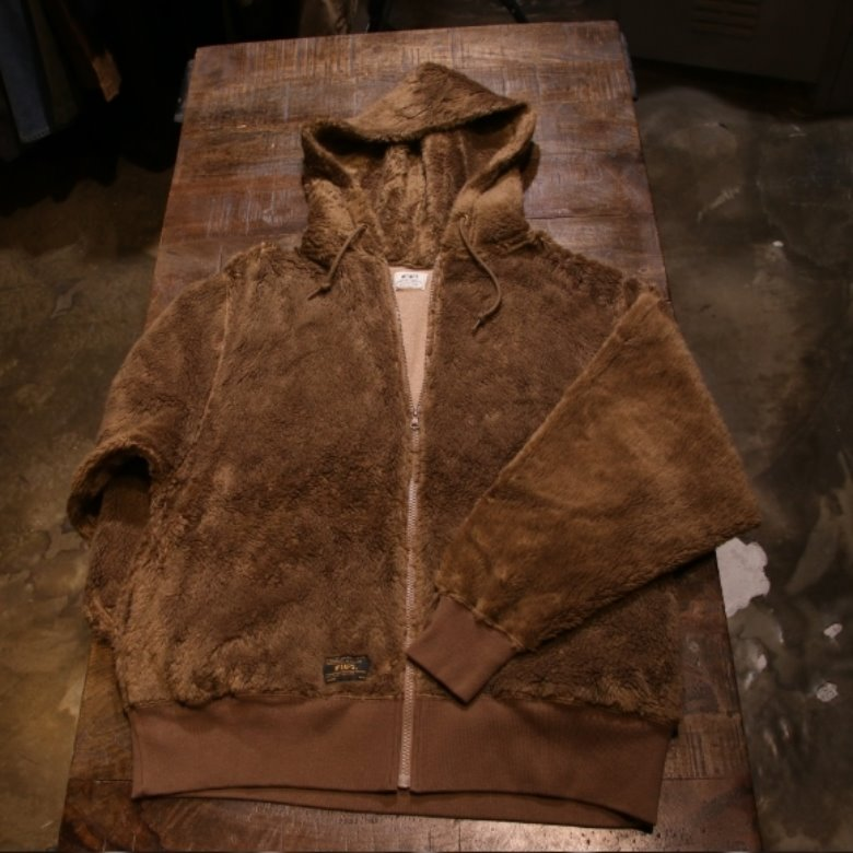 wtaps grizzly hood zipup jacket