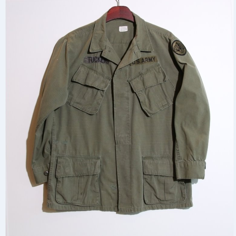 us army 60s fatigue jacket (M)