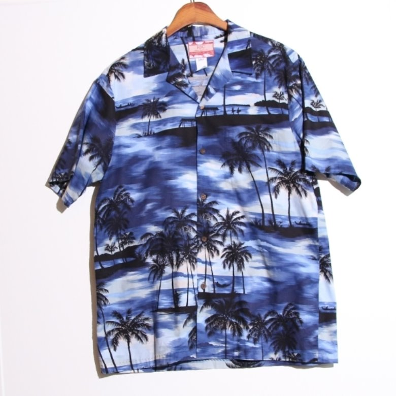 RJC palm tree hawaii shirt