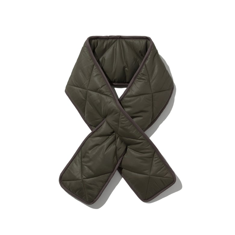 wildhogs quilted padding muffler (KHAKI)